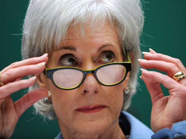 Kathleen Sebelius told members of a House panel that most problems should be fixed by the end of November. (OLIVIER DOULIERY / Abaca Press, MCT)