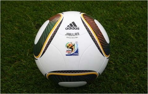 Adidas´ official game ball for the 2010 FIFA World Cup.