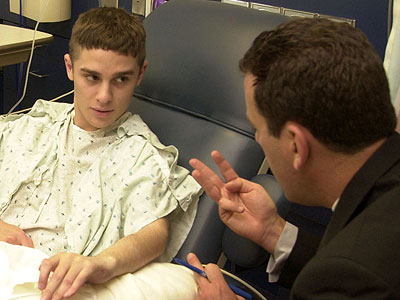 Teenagers deserve doctors who give them ample time and attention to discuss their changing bodies and other challenges of growing up. (AP Photo/Mike Derer)
