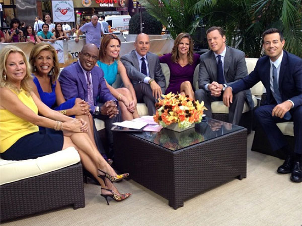Gang´s all here! (Instagram / alroker)