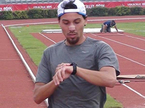 Alfredo Santana hopes to make Puerto Rico´s 2016 Olympic Team. (Photo Credit: Sammy Laureano, Puerto Rico´s International distance coach)