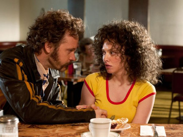 Peter Sarsgaard puts the moves on Amanda Seyfried in Lovelace.