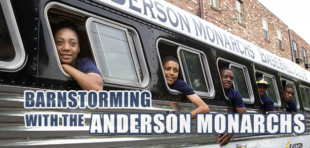 The Anderson Monarchs get ready to begin another barnstorming tour in their 1947 bus on June 17, 2015. ( CHARLES FOX / Staff Photographer )