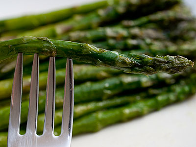 Asparagus contain compounds which are broken down by enzymes in the gastrointestinal tract during the digestion process. The breakdown products are responsible for the somewhat putrid smell.  (AP Photo/Larry Crowe)