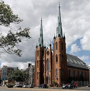 The Church of the Assumption in 2010. (Akira Suwa / Staff Photographer)
