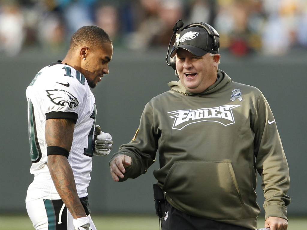 Kelly noncommittal on DeSean's status