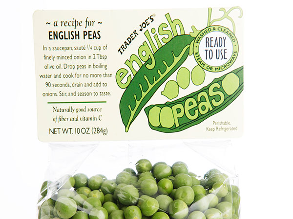 Trader Joe´s English Peas.  ( MICHAEL S. WIRTZ / Staff Photographer )