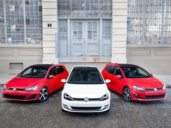 The 2015 Volkswagen Golf family