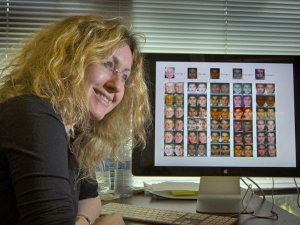 Ira Kemelmacher-Shlizerman, 33, is an assistant University of Washington professor who helped create the sophisticated software that depicts the aging process. (Ellen M. Banner/Seattle Times/MCT)