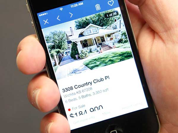 Some house hunters choose to use the Zillow app to search for a home. (Brian Corn/The Wichita Eagle/MCT)