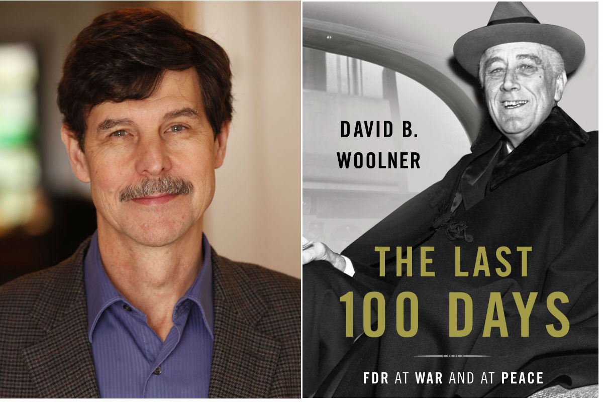 "David B. Woolner, author of ""The Last 100 Days."""