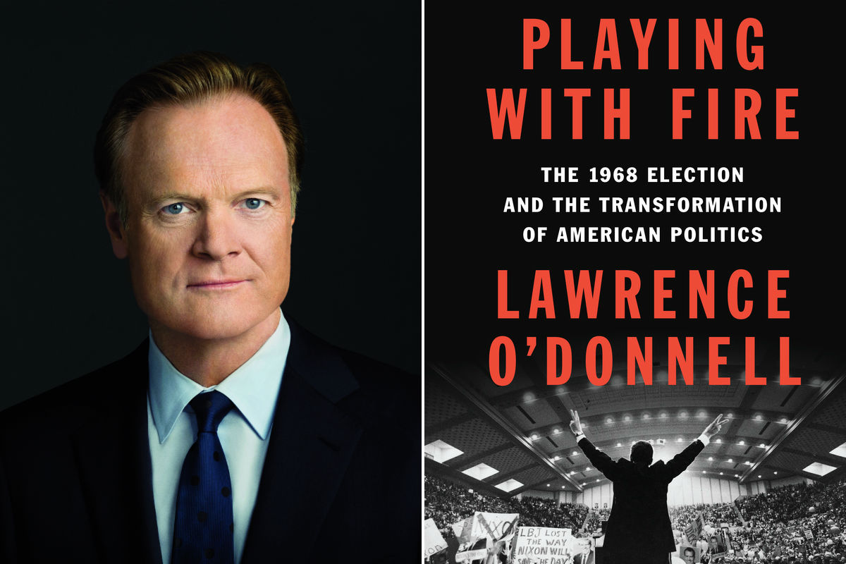 """Lawrence O´Donnell, author of """"Playing with Fire"""""""
