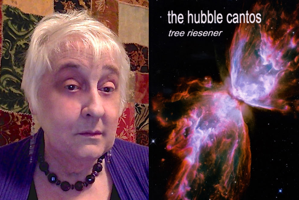 "Tree Riesener, author of ""The Hubble Cantos."""