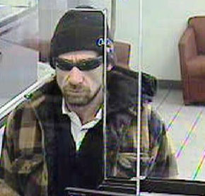 Suspect in the bank robbery.
