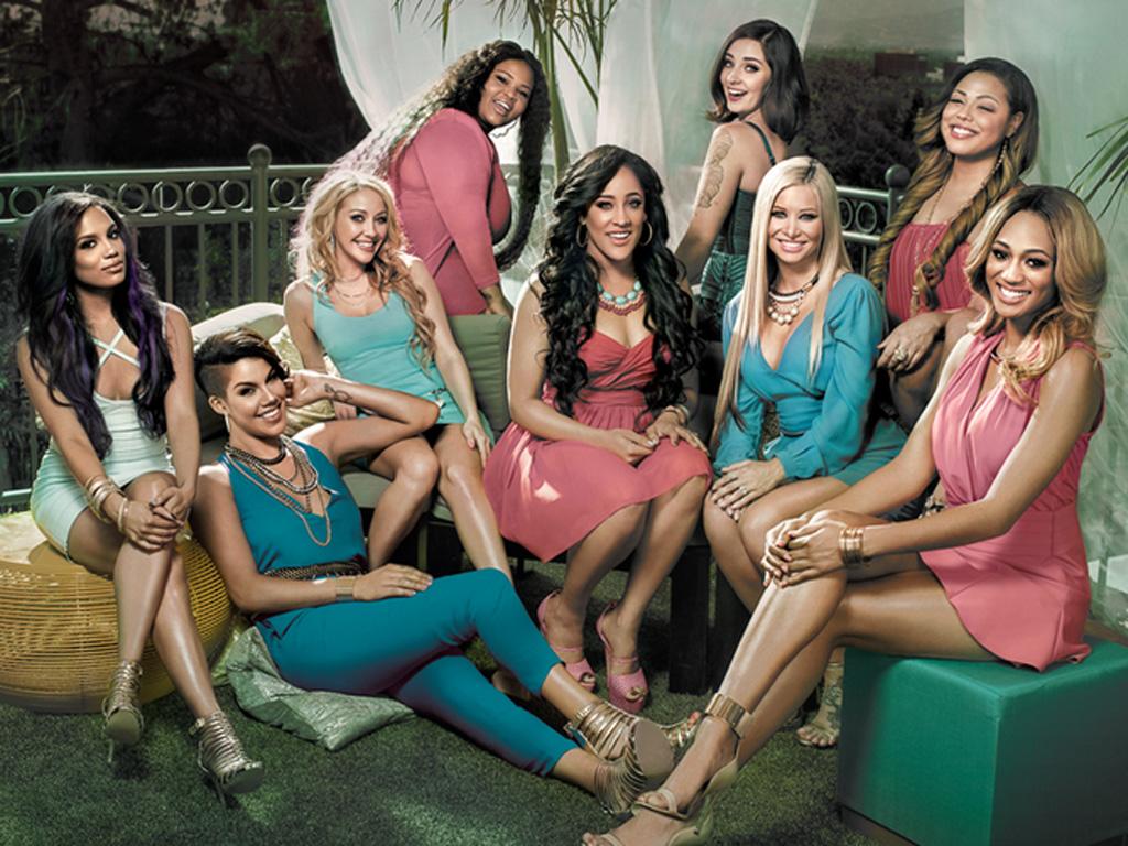 """The """"Bad Girls Club"""" 2014 """"BGCRedemption"""" cast."""