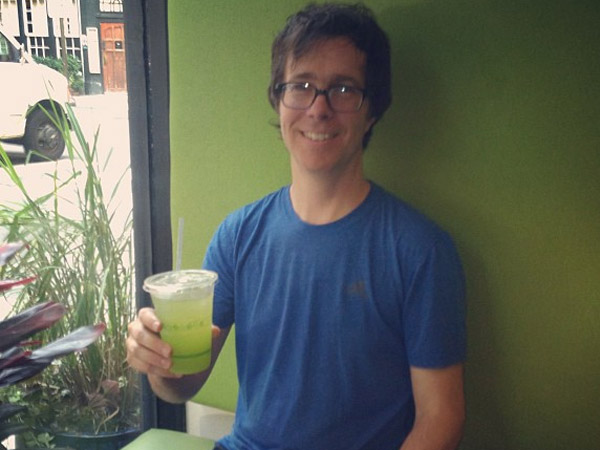 Ben Folds at HipCityVeg.