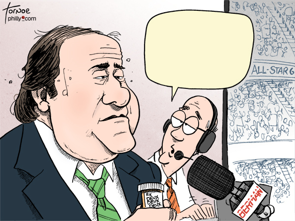 Chris Berman ESPN deux deux deux cartoon