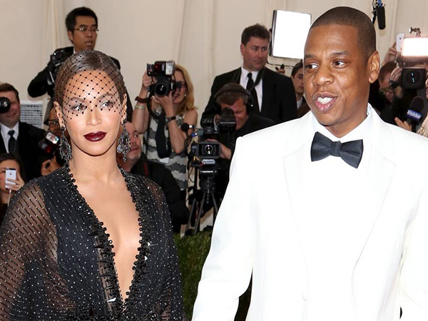 Beyonce and Jay Z at the ´Charles James: Beyond Fashion´ Costume Institute Gala at the Metropolitan Museum of Art.