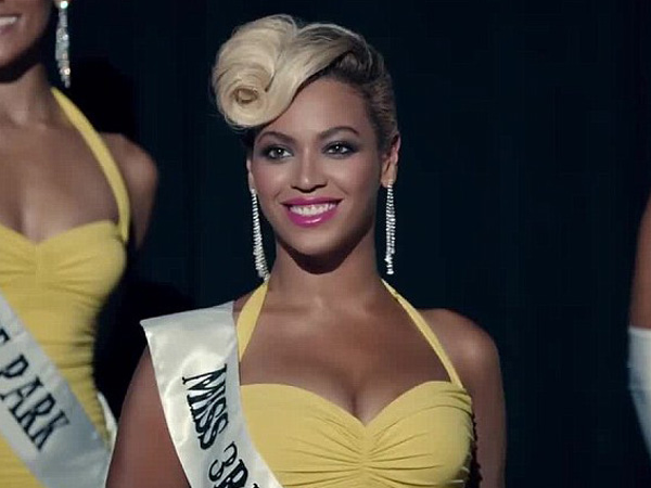 "Screenshot from the Beyonce video for ""Pretty Hurts"""
