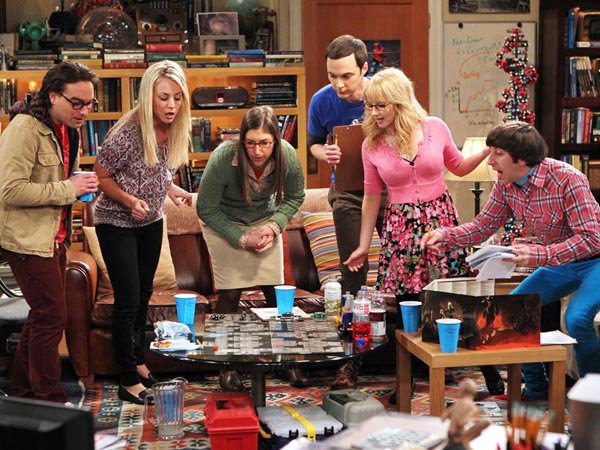 """""""The Big Bang Theory"""" is nominated for the Emmy Award for Outstanding Comedy Series. (AP Photo/CBS, Monty Brinton)"""
