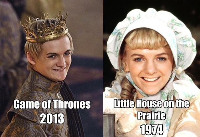 Twitter Nellie Oleson Joffrey mashup