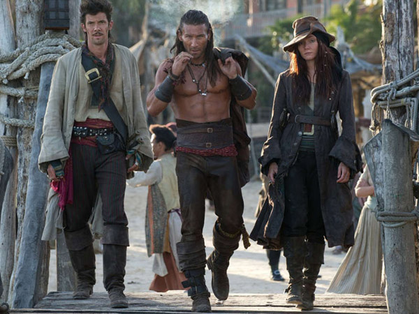 "Toby Schmitz, Zach McGowan and Clara Paget are among the stars of Starz´ new pirate drama ""Black Sails"""