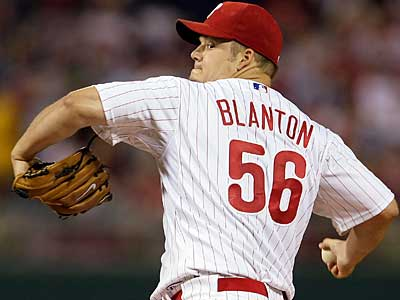 The Phillies have signed starter Joe Blanton to a three-year, $24M contract extension. (Yong Kim/Staff file photo)