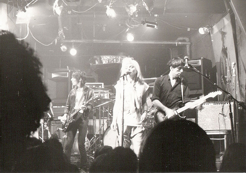 Deborah Harry and Blondie at CBGB, 1978
