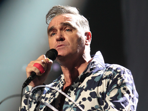 This Jan. 18, 2013 file photo shows former singer for the 80´s alternative rock band The Smiths, Morrissey, performing at the Sovereign Performing Arts Center in Reading, Pa. (Photo by Owen Sweeney/Invision/AP, File)