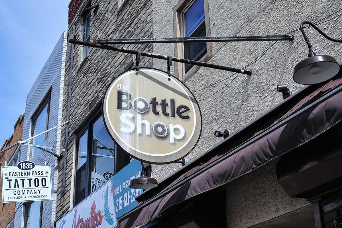 The Bottle Shop at 1616 E. Passyunk Ave.