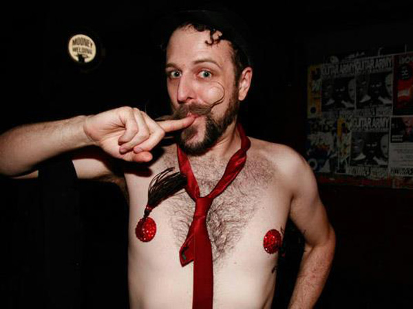 Male burlesque in Philadelphia, Brett J. Hopkins
