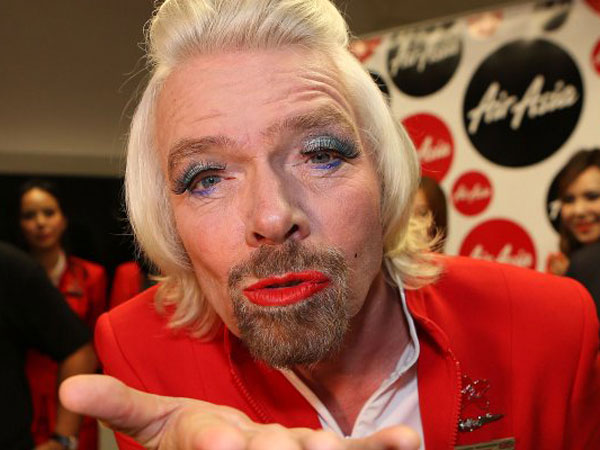 Stewardess/Sir Richard Branson