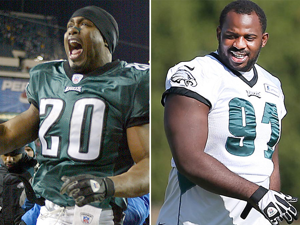 Fletcher Cox Pictures >> The Fanatic nabs Brian Dawkins, Fletcher Cox - Philly