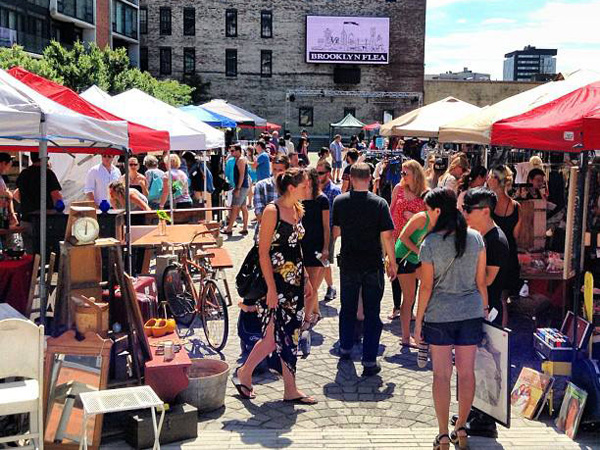 The Brooklyn Flea debuted in Philadelphia in the late spring of this year, selling antiques, collectibles, vintage clothing, and handmade goods from both local and New York vendors.