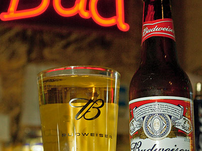 Stores in Whiteclay, Neb. (population: about 10) sell more than four million cans of beer and malt liquor annually, most of it by Anheuser-Busch. (AP Photo/Tom Gannam, file)