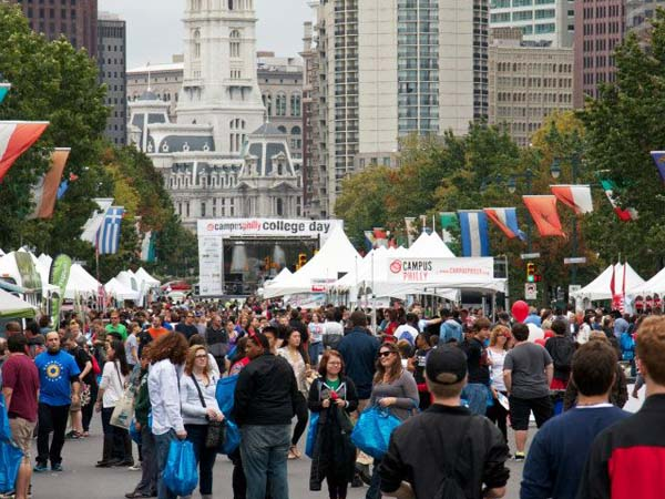 Mingle with college students from around the area at Campus Philly´s annual College Day on Saturday, September 28. (Photo courtesy of Campus Philly)
