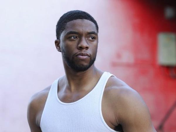 Chadwick Boseman is the star of ´42´ -- a biopic on the career of Jackie Robinson.
