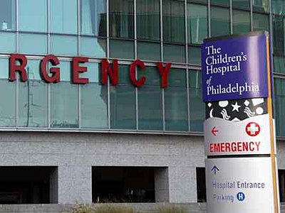 Children´s Hospital of Philadelphia, like other area pediatric hospitals, has seen a flood of ER admissions this week.