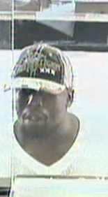 Police and the FBI are searching for this man in connection with a bank robbery in East Germantown Wednesday afternoon. (FBI photo)
