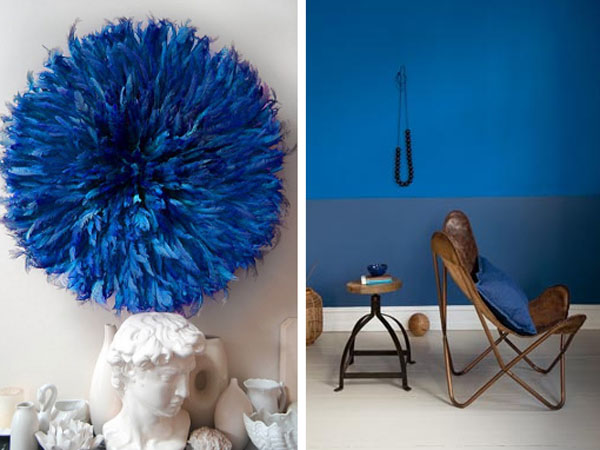 Cobalt Blue is the ´in´ color this year.