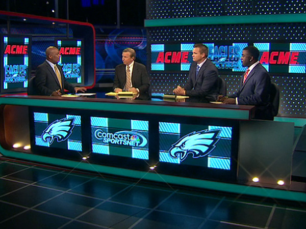 """Eagles Talk"" on Comcast SportsNet."