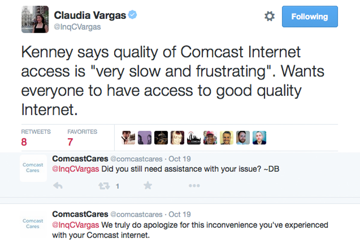 Comcast Quote Comcast Twitter Account Tweets 1000S Of 'sorry's For Poor Service