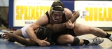 Haddon Corbett of Harrion HS wins by decision over Issac Peyton of Sprinfield (Delco) in Central League matchup 1/19/10