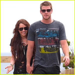 Liam Hemsworth, here any minute to shoot ´Paranoia,´ with his fiancee Miley Cyrus who is not in the film.