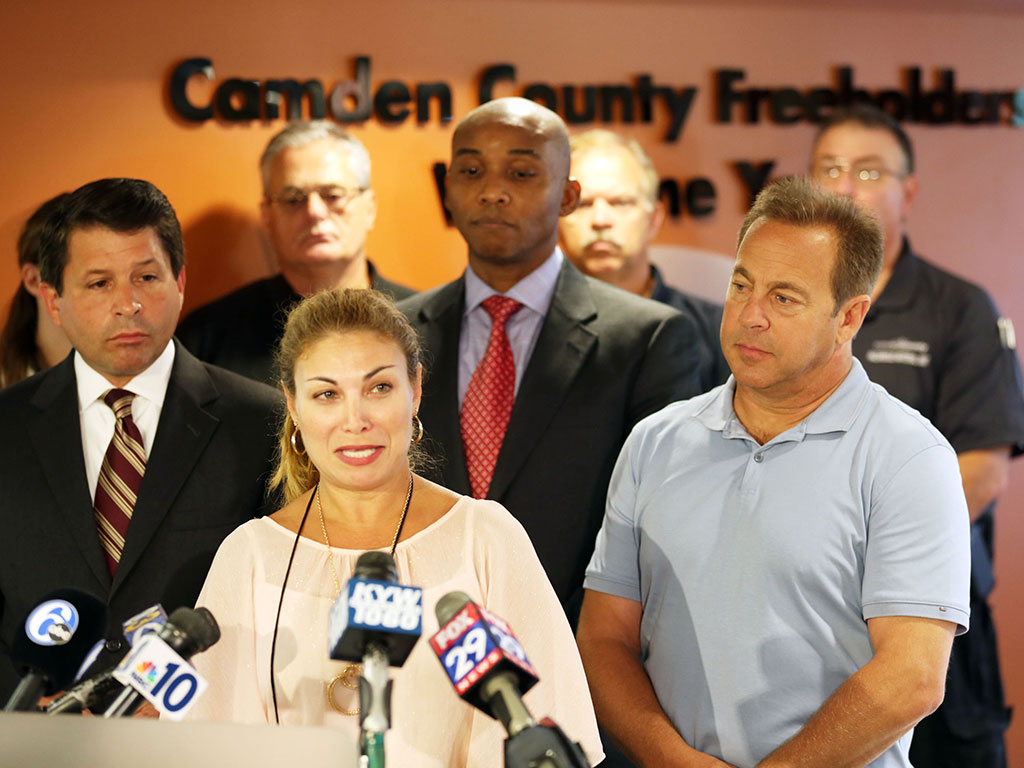 Claudia Funaro, director of nursing for Camden County health department, confirms there was no Ebola. (DAVID SWANSON/Staff Photographer)