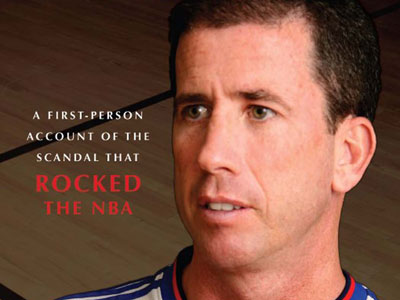 From the cover of ´Personal Foul,´  Tim Donaghy's memoir on his life as a former NBA referee and his basketball gambling.