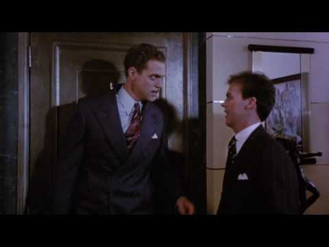 "Piscopo with Michael Keaton in ""Johnny Dangerously."" You shouldn´t hang Danny Vermin on a hook. His father hung him on a hook once. Once."