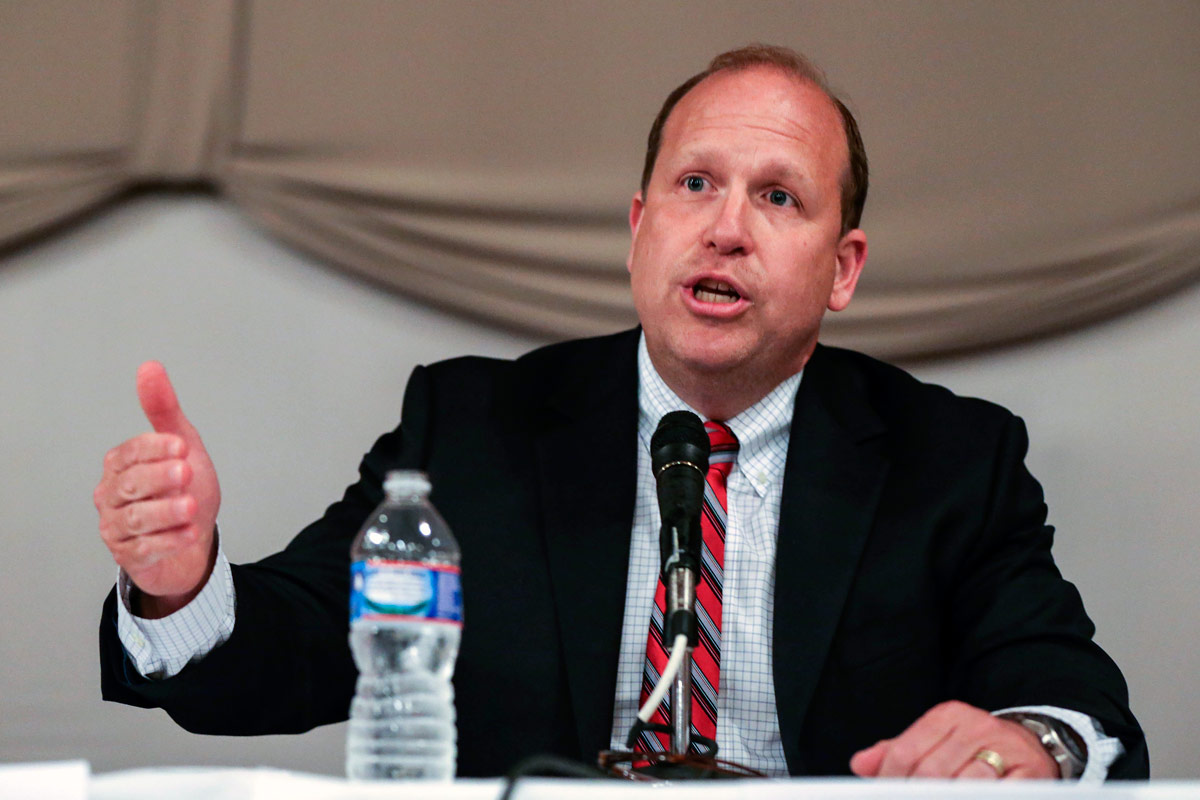 Pennsylvania state Sen. Daylin Leach said he is considering running in the Democratic primary to challenge four-term Rep. Pat Meehan.