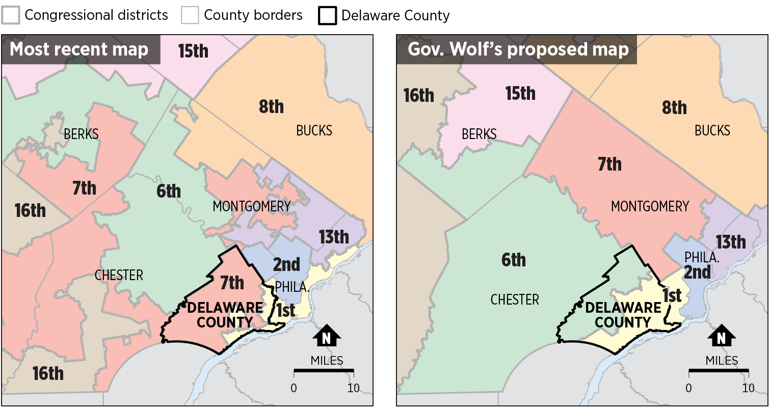 After Pennsylvania congressional map impasse, a new map revealed