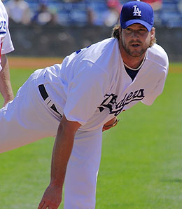 The Phillies have contacted free agents Derek Lowe (pictured) and A.J. Burnett about contracts.